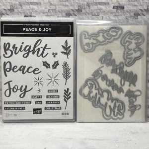 peace, joy, productpakket, stampin up, stampin treasure, bundel, bundle, tweedehands