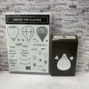 above the clouds, stampin up, stampin treasure, gebruikt, tweedehands